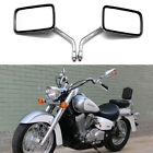 For Honda Shadow VLX 600 VT600C VTX1300C Chrome Motorcycle Rearview Side Mirrors