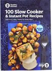 100 Slow Cooker and Instant Pot Recipes Weight Watchers Paperback 2019