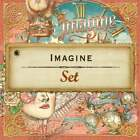 Graphic 45 Imagine 12 x 12 Collection Mini Pack Steampunk Vintage