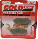 SYM HD 200i Evo Brake Disc Pads Front R/H Goldfren 2007-2009