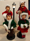 Brinns Vintage 1986 87 Christmas Carolers Family of Four 5 piece set in box