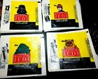 1983 Topps ROTJ UNFOLDED WRAPPERS x 4 different set STAR WARS Return of the Jedi