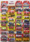 Matchbox Lot of 34 Fire Engine Snorkel Pumper Tanker Ladder Truck All Listed