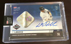 2019 TOPPS NOW DJ LEMAHIEU GAME USED BASE AUTOGRAPH AUTO 49 49 ALCS YANKEES SICK