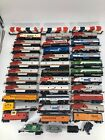 Vintage HO Scale Trains Lot Of 37 Cars (Bachmann, Playart, Tyco, Etc)