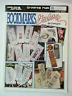 BOOKMARKS GALORE 66 designs cross stitch book leisure arts FREE SHIP patterns