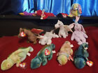 Ty Beanie Babies Rare Original Patti Snort Lucky Dippy Scorch Mystic Magic