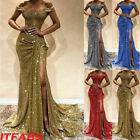 Women Formal Wedding Bridesmaid Evening Party Ball Prom Gown Long Cocktail Dr