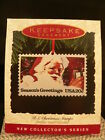 HALLMARK ORNAMENT 1993 U.S. CHRISTMAS STAMPS 1st. EDITION-----DATED