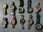 10 pre owned watches. Fossil, Guess, Breitling, Armitron, American Exchange