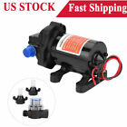 12V 35 GPM Fully Automatic 45PSI High Pressure Fresh Water Diaphragm Pump Hot
