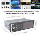 4.1inch Capacitive Touch Screen Device Car Bluetooth MP5 Player Digital FM Radio