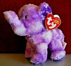 Ty Beanie Baby ~ COASTLINE the Purple Elephant (6.5 Inch) MWMT