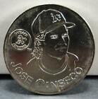 1991 Jose Canseco Starting Lineup Collector Coin! Oakland A's