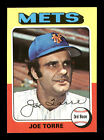 Joe Torre Auto Autographed Signed 1975 Topps Card #565 New York Mets 168327