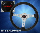 For Nissan Track Racing Luxury 345mm Steering Wheel 2 Deep Dish Blk Wood Grain