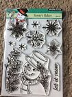 Penny Black Frostys Flakes Clear Stamp Set