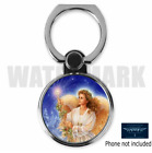 ANGEL RELIGIOUS CUSTOM ROUND CELL MOBILE PHONE RING HOLDER STAND D7 FREE SHIP