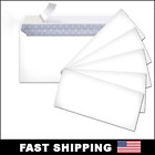 Peel And Self-seal White Letter Mailing Envelopes Security 4-18 X 9-12 No 10