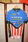 Volvo Cannondale USA TEAM retro vintage cycling jersey L  ALY