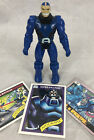 1991 Toybiz X Men Apocalypse Action Figure  Marvel Series 1  2 Trading Cards