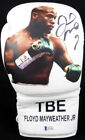 FLOYD MAYWEATHER JR. AUTOGRAPHED WHITE BOXING GLOVE WITH PHOTO RH BECKETT 123604
