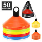 XPRT Fitness Soccer Cones Set of 50 Sports Drills Agility Training Durable