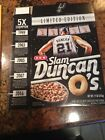 Slam Duncan O's BOX ONLY Limited Edition Cereal Tim Duncan HOF San Antonio Spurs