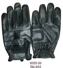 Unlined Motorcycle Driving Gloves Leather Biker Gloves