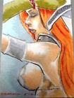 2012 BREYGENT SDCC RED SONJA - SKETCH by BRAD CHAVARRIA SC