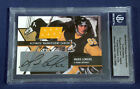 2003-04 BAP Ultimate Mario Lemieux Auto Jersey 9 10 First Game Shift Shot Goal!