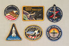NASA PATCH LOT 6 Space Program  Shuttle STS Mission Patches Hubble Telescope