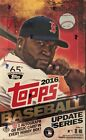 2016 Topps Update Series Factory Sealed Baseball Hobby Box