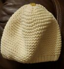 Baby Gap Hat Beanie Cream Off White Ivory Knitted Spring Hat Preowned Perfect