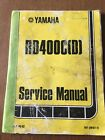 factory yamaha RD400 service manual