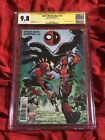 CGC SS 9.8 SPIDER-MAN DEADPOOL #13 SIGNED BY TOM HOLLAND MARVEL COMICS BOOK