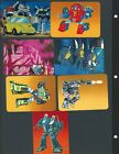 1985 Hasbro Transformers Action Cards Trading Cards 6