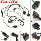 CDI Wiring Stator Assembly Electric Ignition Coil Harness Kit 50-125cc ATV Quad