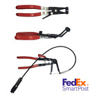 3x Hose Clamp Pliers Brake Clutch Cable Line Flexible Wire Hose Clip Puller Tool