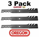 3 Pack Oregon 95 088 Mower Blade Gator G3 Fits Kees 539112078