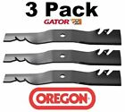 3 Pack Oregon 596 323 G5 Gator Mulcher Mower Blade for Bunton Goodall PL7329 50