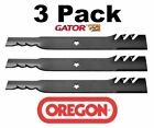 3 Pack Oregon 595 605 G5 Gator Blade for AYP 112053 187254 187255 187256 54