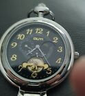 OUYI SUPER POCKET WATCH W/ EXPOSED ESCAPEMENT ON FRONT WITH MOON
