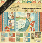Graphic45 HOME SWEET HOME DELUXE EDITION scrapbooking PAPERS STICKERS CHIPBOARD