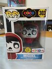 Glow Miguel From Coco Toys R Us Exclusive Funko Pop 303 GITD (Box Damages)