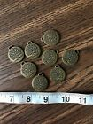 Brass Tree Of Life Charms Pendants Jewelry Making Supplies Qty Of 8