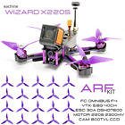 FPV Racer RC Drone Omnibus F4 30A Eachine Wizard X220S Pack ARF + 20 Props
