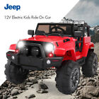 12V Electric Car Kids Ride On Truck Car Battery Power w MP3 Remote Control Red