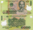 1 MILLION VIETNAM DONG CURRENCY VND 10 100000 Banknotes Fast Shipping