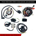 Wiring Harness Wire Loom CDI Electric Stator Kit for 150CC 200CC 250CC ATV Quad